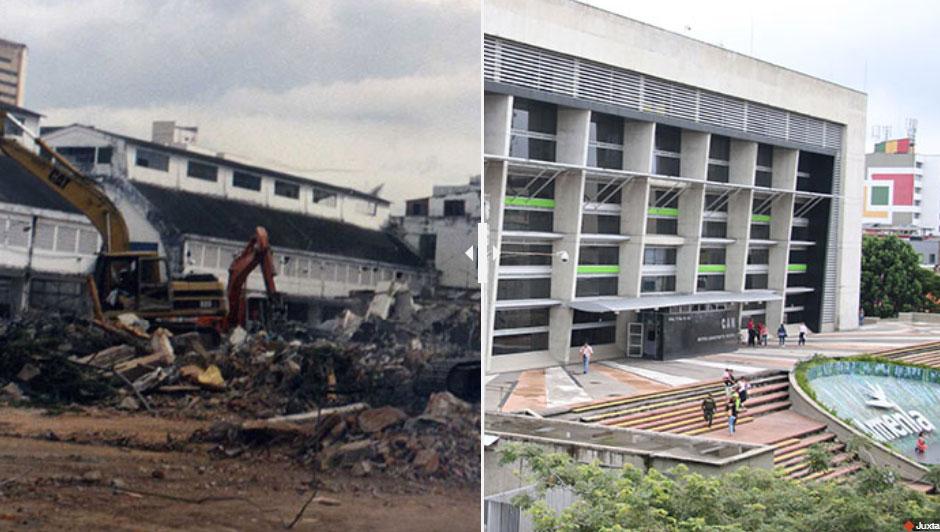 Vea el antes y después del terremoto en Armenia y algunos municipios
