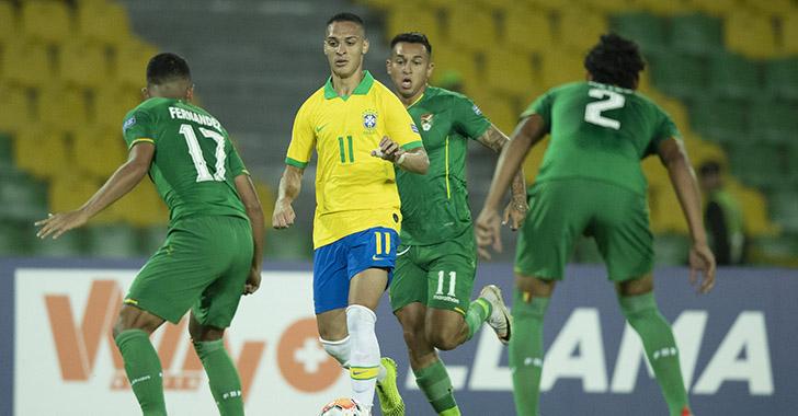 Brasil clasifica con un 5-3 ante una Bolivia aún con opciones