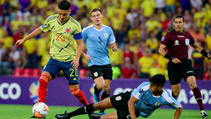 Colombia cayó ante Uruguay y no irá a Tokio 2020