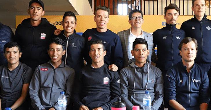 Bernal, Carapaz, Alaphilippe y Aru engalanan tercera edición de Tour Colombia
