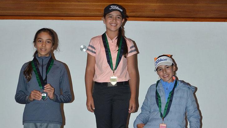 Susana Botero, admitida  en Máster Internacional de Golf