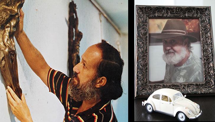Adiós a Magall, el artista gitano del Quindío
