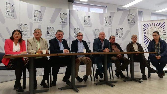"""Farc acude a la Comisión de la Verdad para """"sanar las heridas"""" del conflicto"""