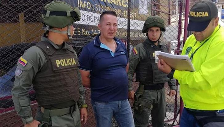 """Capturaron al """"señor de la bata"""", el mayor traficante de heroína de Colombia"""