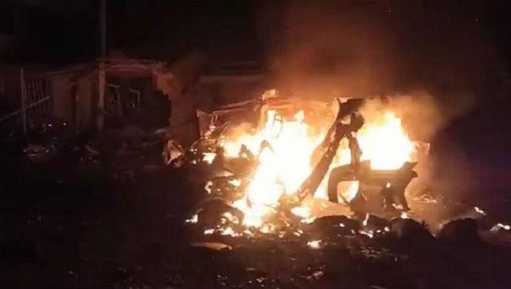 Ascienden a siete los muertos por explosión de un bus en el Cauca