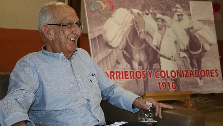 """""""La arriería ya es historia, pero fue génesis del desarrollo económico"""": José Jaramillo Mejía"""