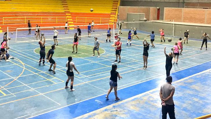 Departamental dominical de voleibol este domingo en Circasia