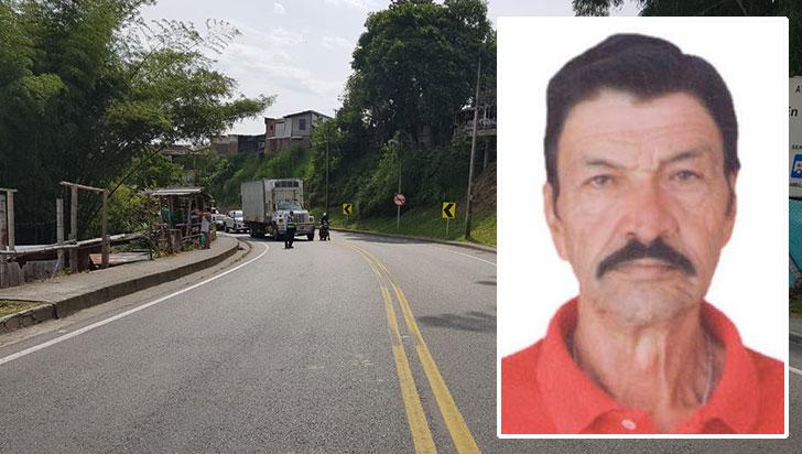 Adulto mayor falleció en accidente de tránsito
