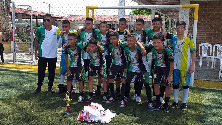 Caciques del Quindío fue campeón del torneo relámpago de Alcalá