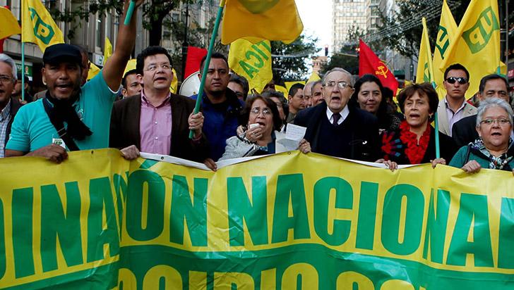 Justicia de Paz de Colombia acredita como víctima al partido Unión Patriótica