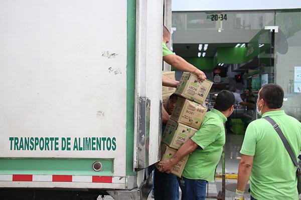 Abastecimiento de alimentos, medicamentos y elementos de aseo están garantizado