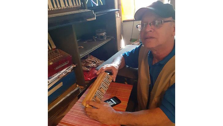 José, el 'Ángel' de los acordeones en el Quindío