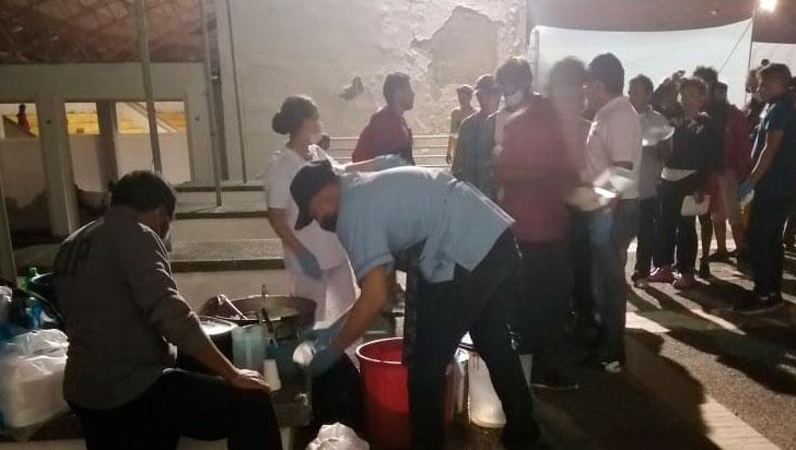 Desde la noche de este martes, habitantes de calle y migrantes tienen albergue en Cenexpo