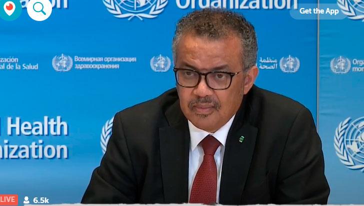 ONU pide 2.000 millones de dólares contra coronavirus en países vulnerables