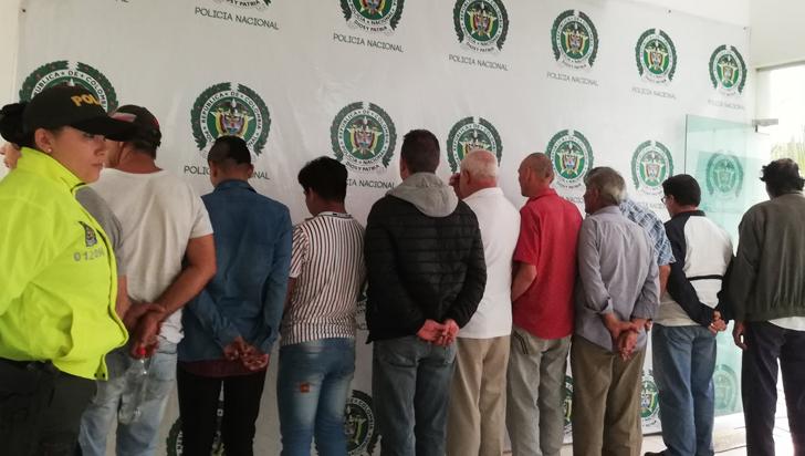 Detienen en Guainía a 18 personas acusadas de explotar sexualmente a menores