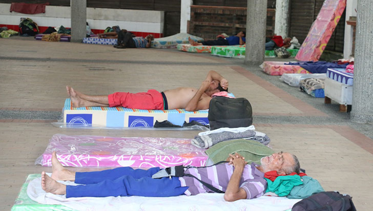 Hasta 700 personas se podrían resguardar en Cenexpo durante la cuarentena