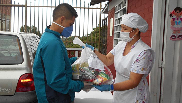 Icbf terminó entrega de canastas nutricionales para población infantil