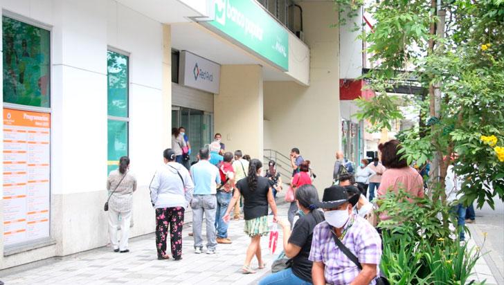 Nuevo pico y cédula para servicios bancarios en Armenia