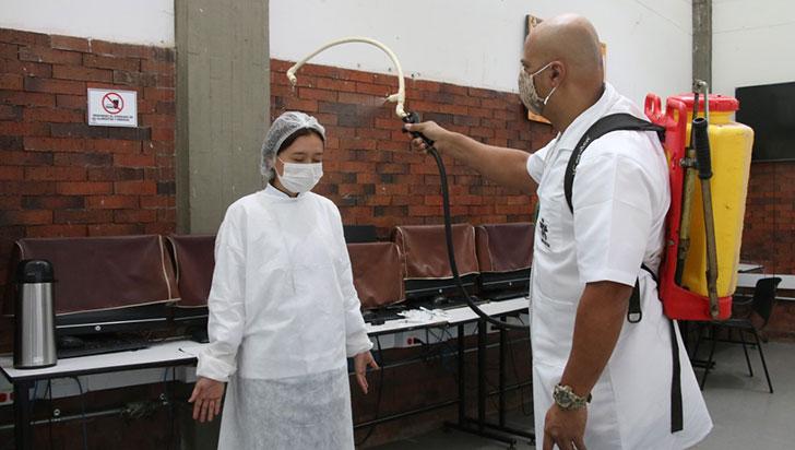 Sena Quindío apoya producción de elementos de protección y creación de prototipos