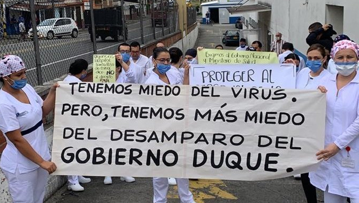 COVID-19 cuesta la vida a otros dos médicos colombianos
