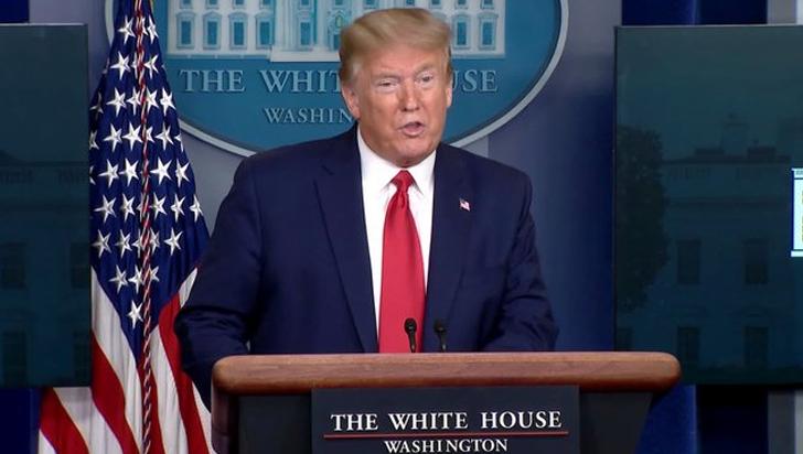 Trump se retracta y dice que la sala de crisis seguirá
