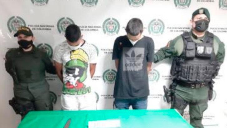Después de robar a repartidor de domicilios, 2 hombres fueron capturados