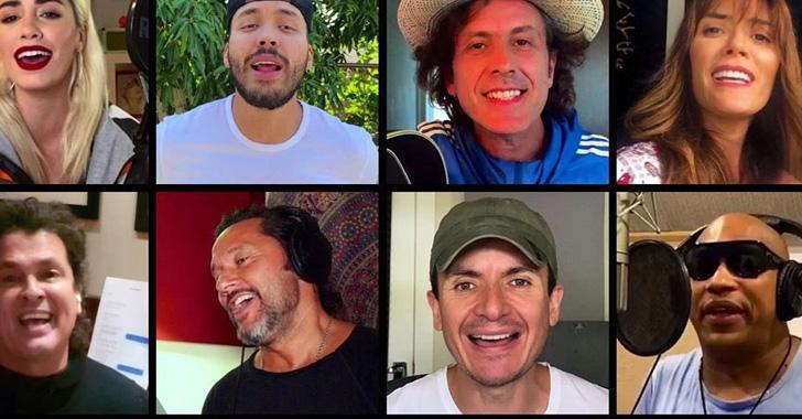 """Más de 30 artistas lanzan versión de  """"Color Esperanza"""" contra el COVID-19"""