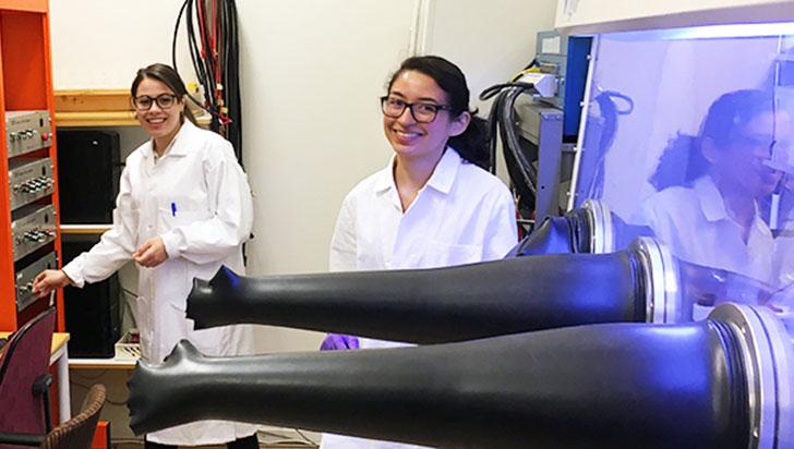 La científica quindiana que tiene las 'pilas' puestas en las baterías