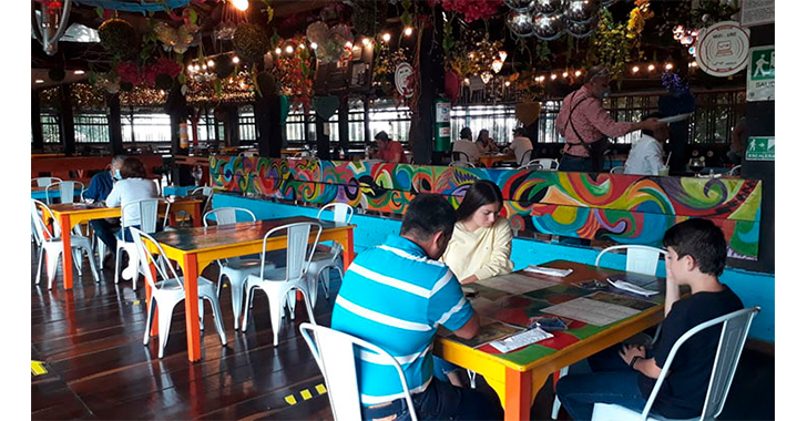 5 restaurantes iniciaron servicio en mesa para todos los quindianos