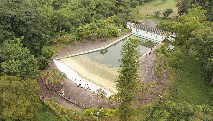 Parque de Recreación Popular,  2 años de abandono