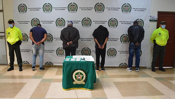 Capturados 4 ciudadanos por hurto de motocicletas