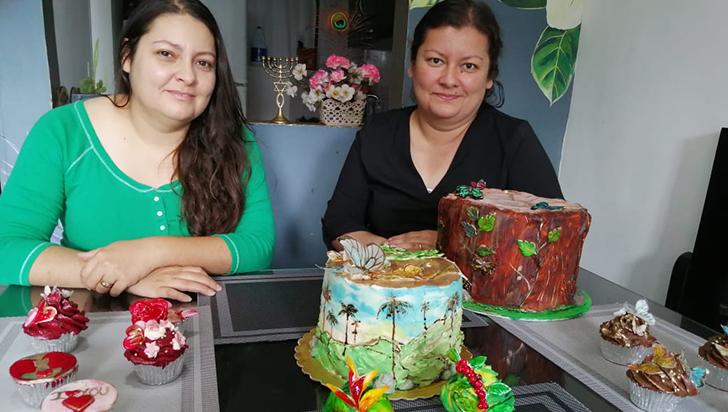 Las tortas que son todo un arte de las hermanas Muriel Millán