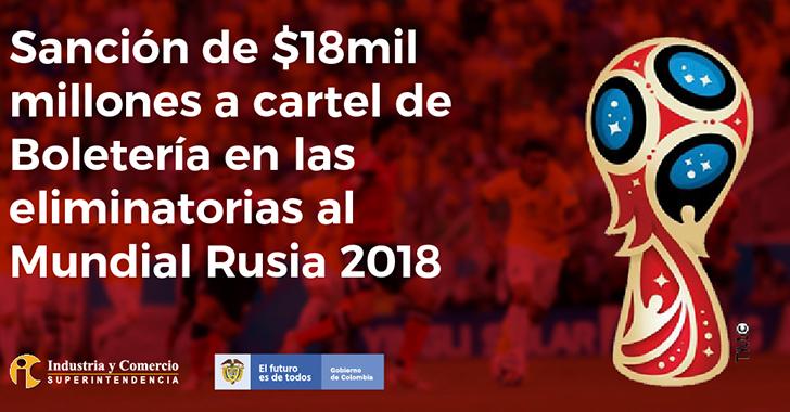 Multan a Federación Colombiana de Fútbol por revender entradas a partidos