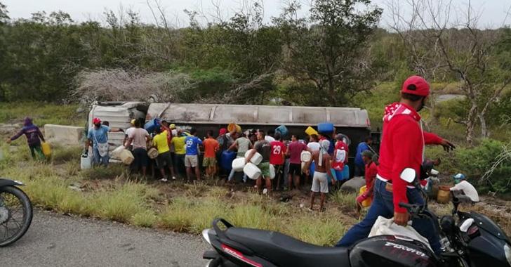 Al menos 7 muertos al incendiarse camión cisterna en el Magdalena