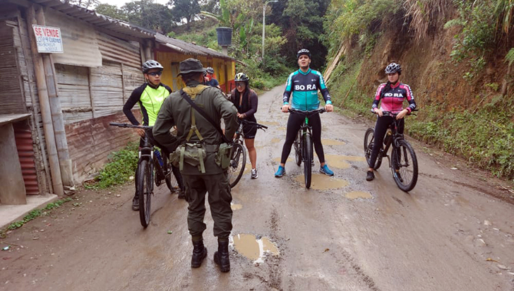En Salento prohibieron el ingreso de ciclistas externos al municipio