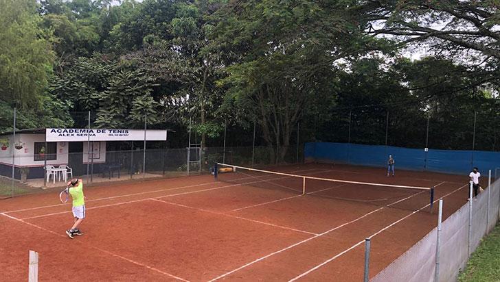 Parque De la Vida se activa con el regreso del tenis