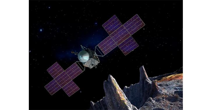 Psyche: NASA completó el diseño de la nave que viajará al asteroide lleno de oro