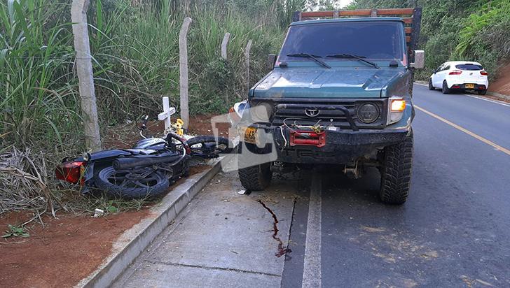 Trágico accidente de tránsito cobró la vida de una adolescente embarazada