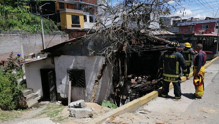Familia de Quimbaya lo perdió todo  en un incendio