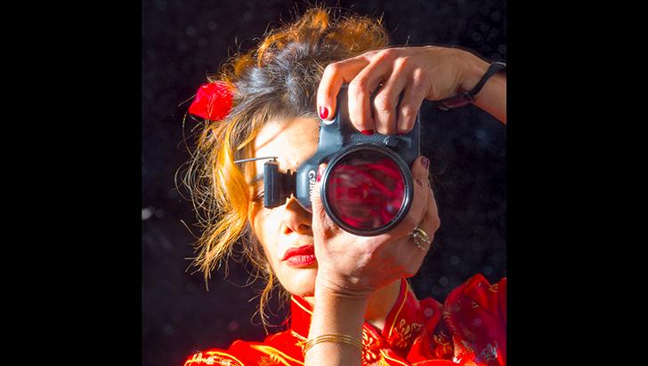 Indira, la fotógrafa de los grandes escritores