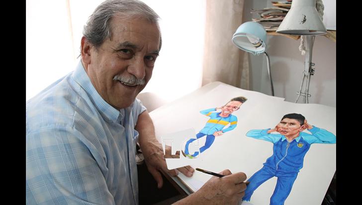 Jairo Alberto, un crítico de lápiz y de palabras