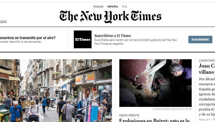The New York Times ya gana más por su versión digital que por la impresa