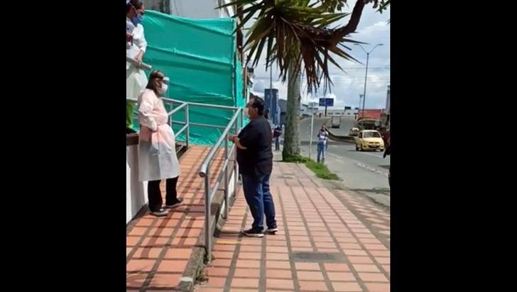 """""""De Cosmitet me dijeron que fuera por unos medicamentos"""", periodista Óscar Hincapié V."""