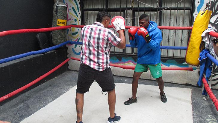 'Duncan' García quiere ser referente para masificar el boxeo en el Quindío