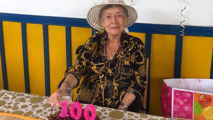 DoñaNohemycumple hoy 100 años de una vida entregada al civismo