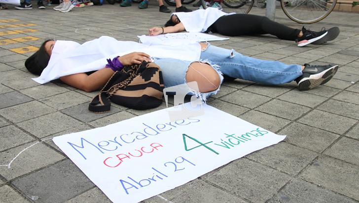 Con 2 manifestaciones, Quindío se unió al 21s nacional