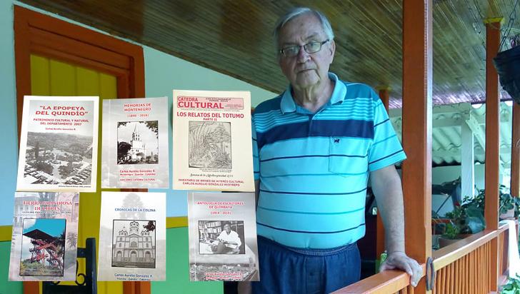 Un empírico que ha recuperado la memoria histórica de Montenegro y Quimbaya