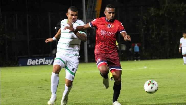 Por Copa, Quindío le ganó a Fortaleza y se acerca a tercera ronda