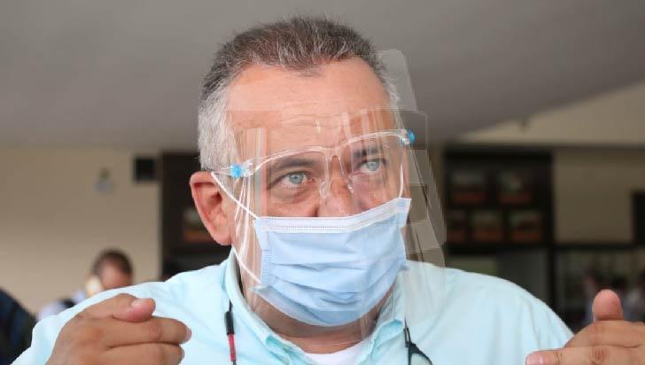 Alcalde Ríos Morales, positivo para COVID-19