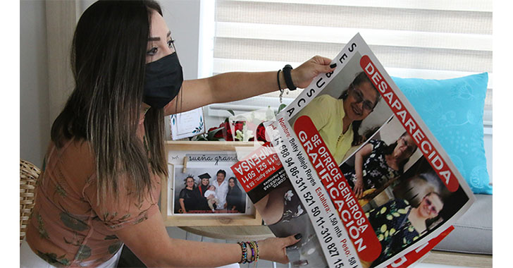 Hasta $10.000.000 para quien suministre información del paradero de Betty Vallejo Reyes